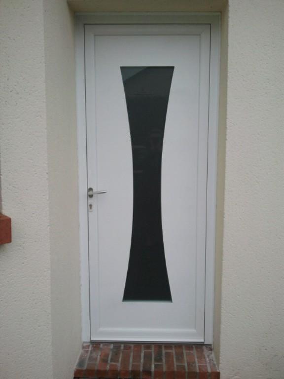 Porte d'entrée contemporaine Rouen 001