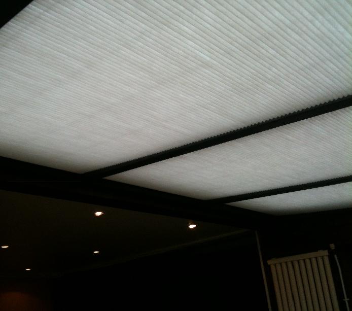 store véranda rouen, store plissé toiture véranda rouen, 76