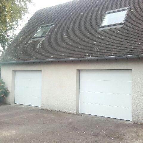 Double porte de garage rouen sectionnelle plafond
