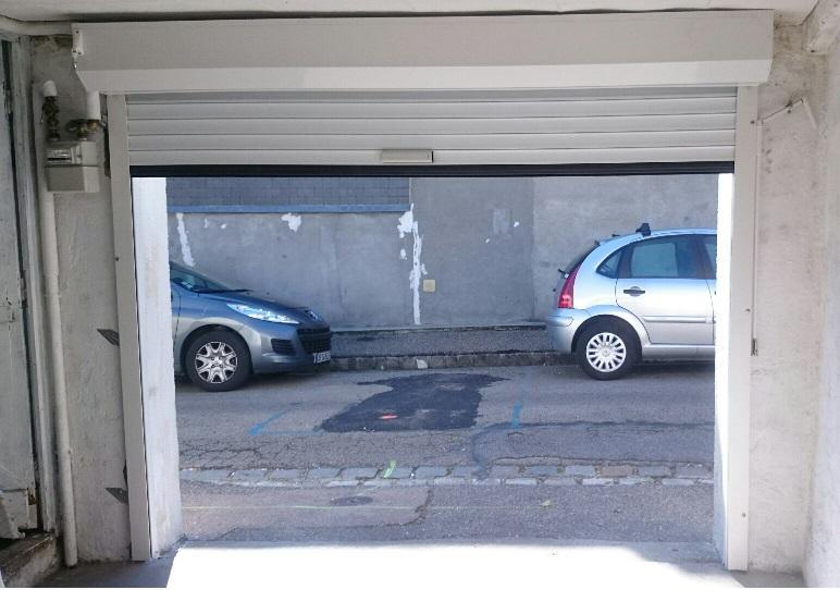 Porte de garage a enroulement rouen normandie et eure