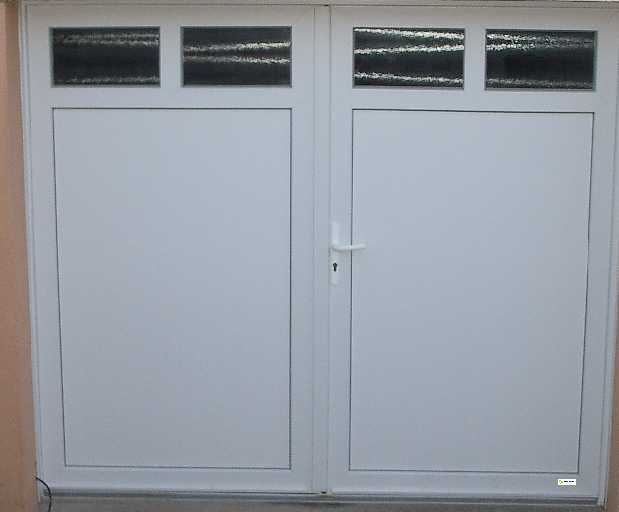 Direct fabricant fen tres pvc alu stores porte de for Motorisation porte de garage battante