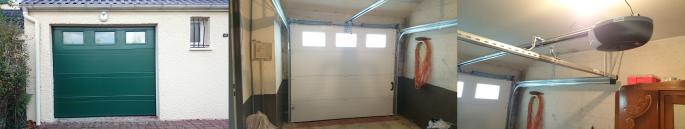 Porte de garage rouen