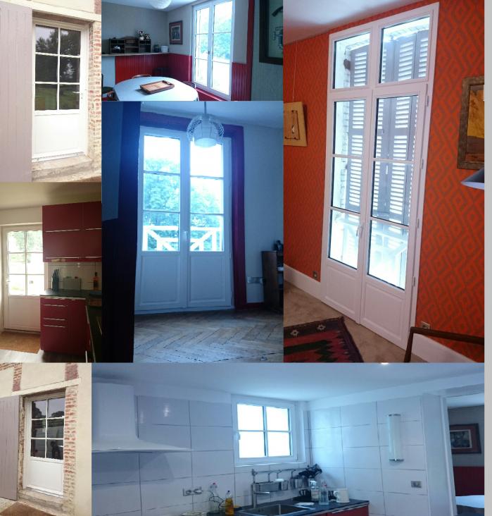 Direct fabricant fenêtres bois, boisalu, stores,  AMBIANCE FENETRES